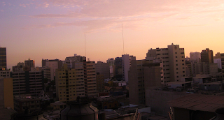 Sunset in Lima