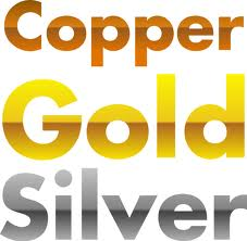 MCx,Copper, Gold, Silver
