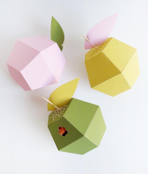 Коробочка в виде яблока своими руками : Diy apple boxes