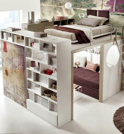 20 creative space saving ideas for home - The Grey Home