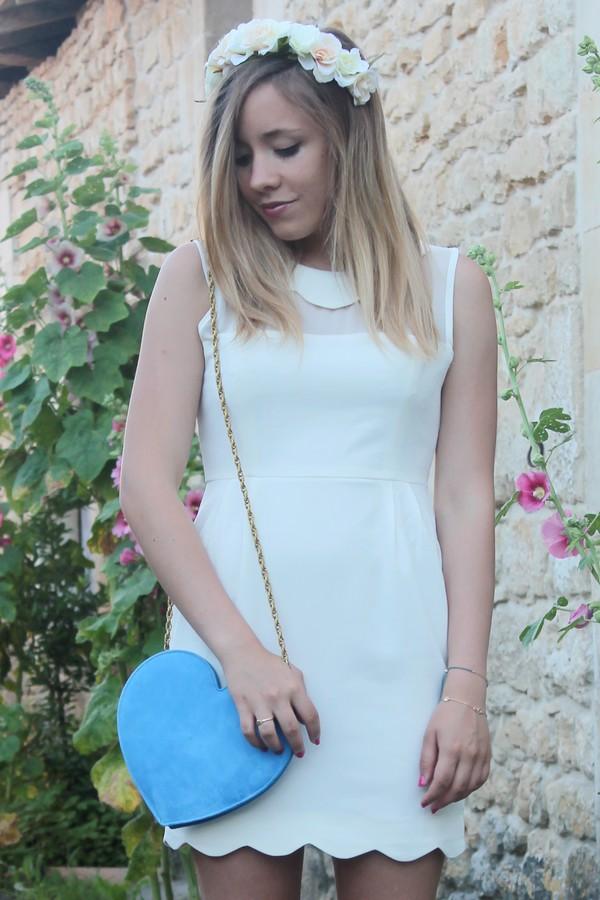 robe blanche look été