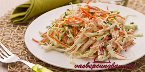 [Salad] Đậm đà cùng Salad bắp cải cà rốt mát giòn ngon