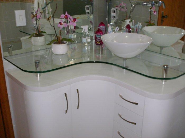 Banheiros Modernos, quais são as tendências?  DecorSalteado -> Pia De Canto Para Banheiro Pequeno