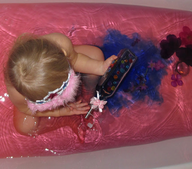 Princess themed bath
