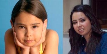 Antes y después de la actriz Yaiza Esteve, ahora estudiante universitaria
