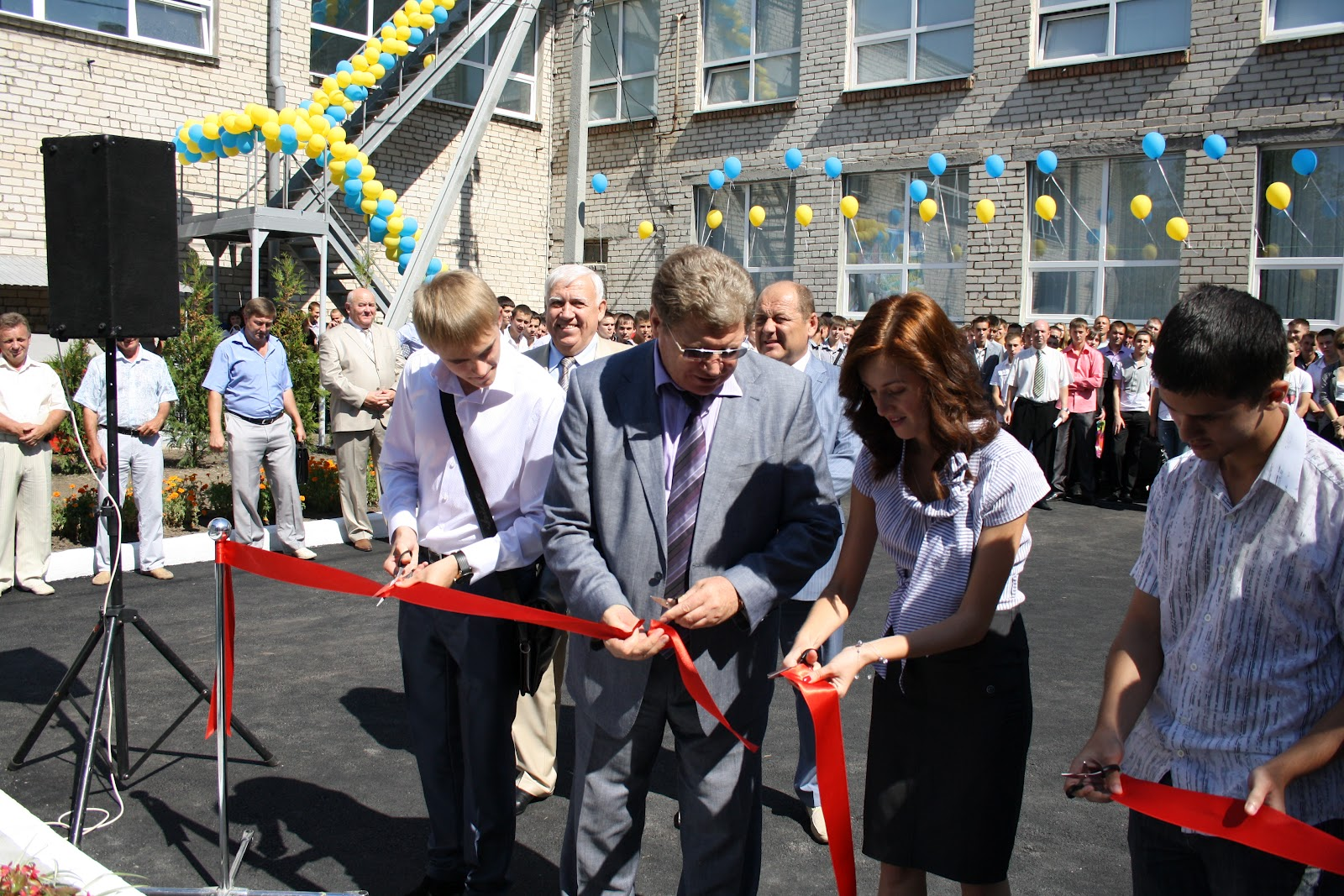 1 сентября - День знаний. Открытие учебно-научного полигона энергетического оборудования.
