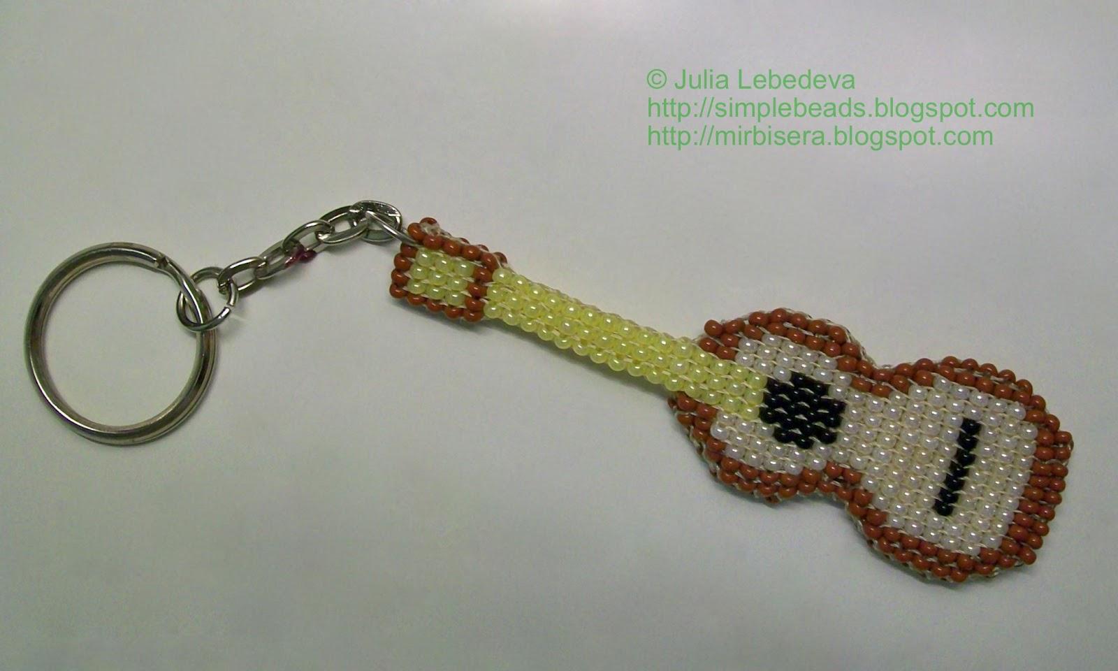 Изучение разных схем и вариантов плетения цепочек из бисера