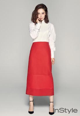 Kim Hyun Joo InStyle November 2015