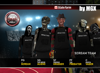 The Scream Team NBA 2K12 PC Mod