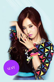 SNSD Yuri Casio Baby G photos