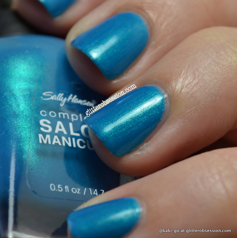 Sally Hansen Calypso Blue Over China Glaze Caribbean