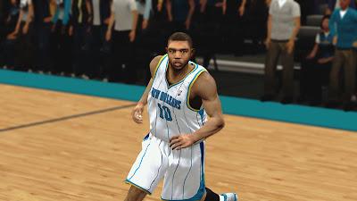 NBA 2K13 Eric Gordon Face Mod
