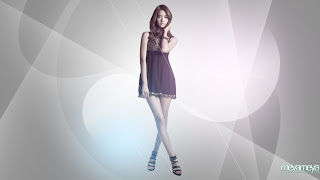 Im Yoona Korean Cute Girl Singer Sexy Mini Skirt 11