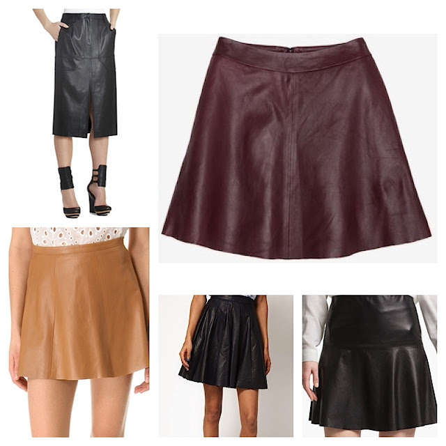 Five fab leather skirts