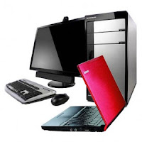 Laptop and desktop computers