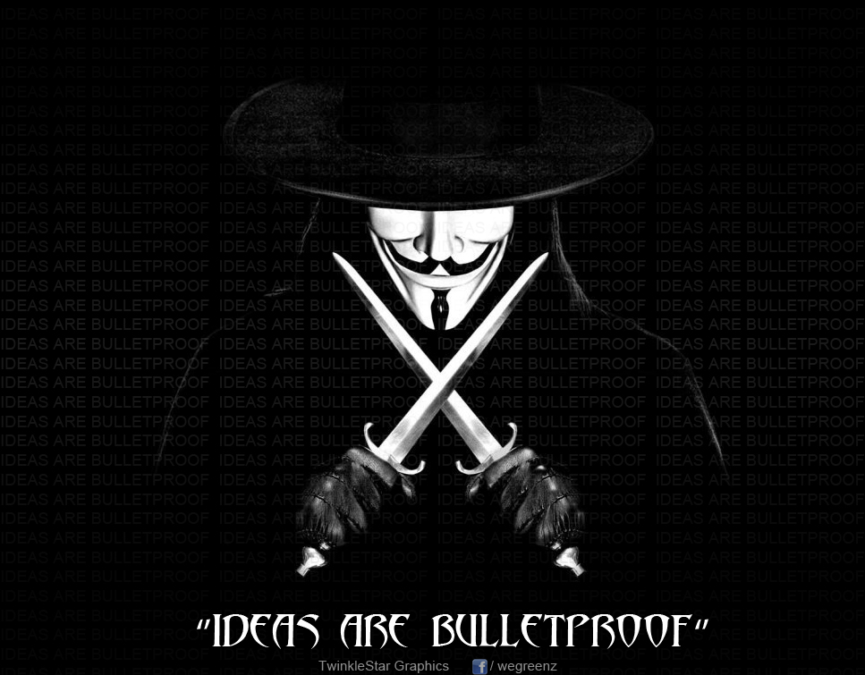 ideas are bulletproof Ideas are bullet proof babs5383 loading  v怪客:「理念是刀枪不入的!」 ideas are bulletproof (chinese) - duration: 5:23.