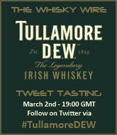 Tullamore D.E.W. Tweet Tasting