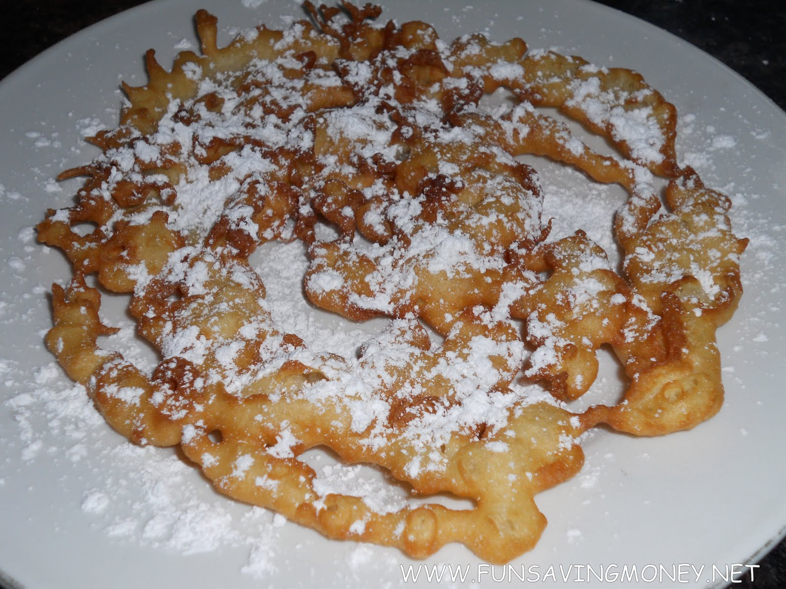 How to Make a State Fair Funnel Cake Recipe
