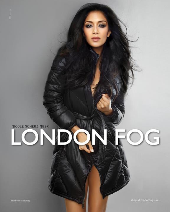 Fashionable Hairstyles Nicole Scherzinger on London Fog 01