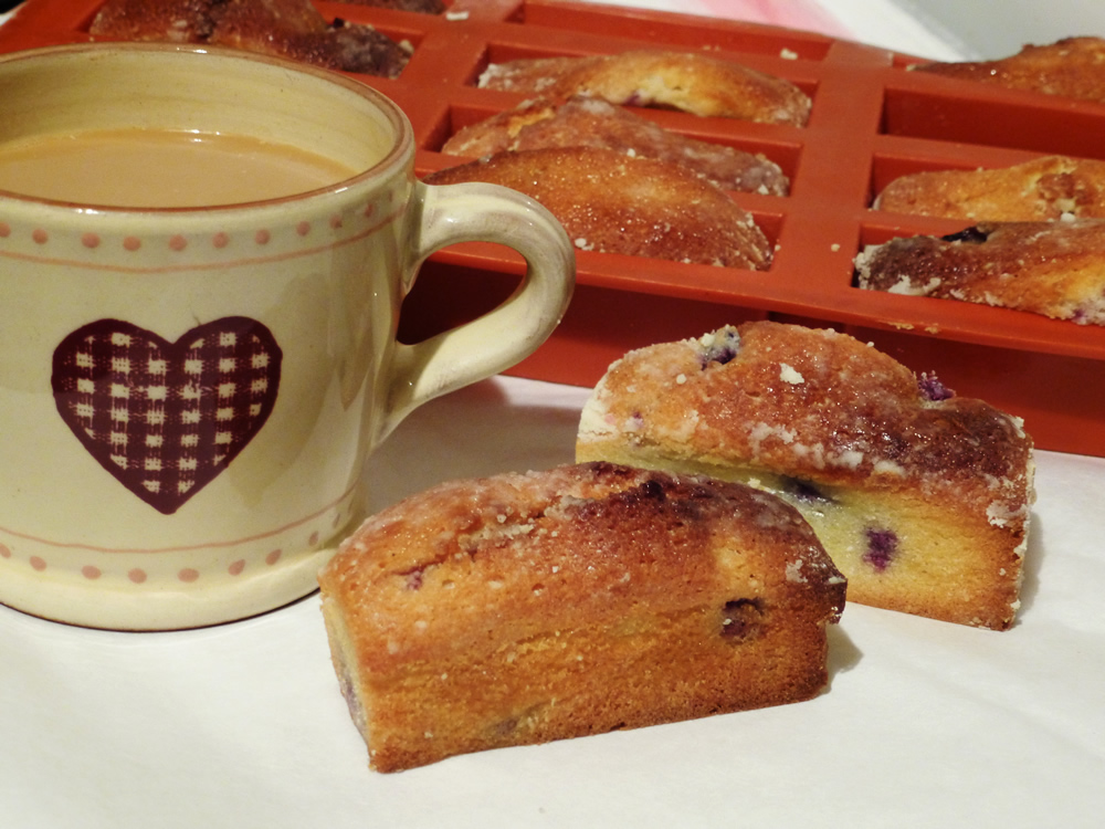 SiliconeMoulds.com Blog: Blueberry Financiers - Pretty Little French ...