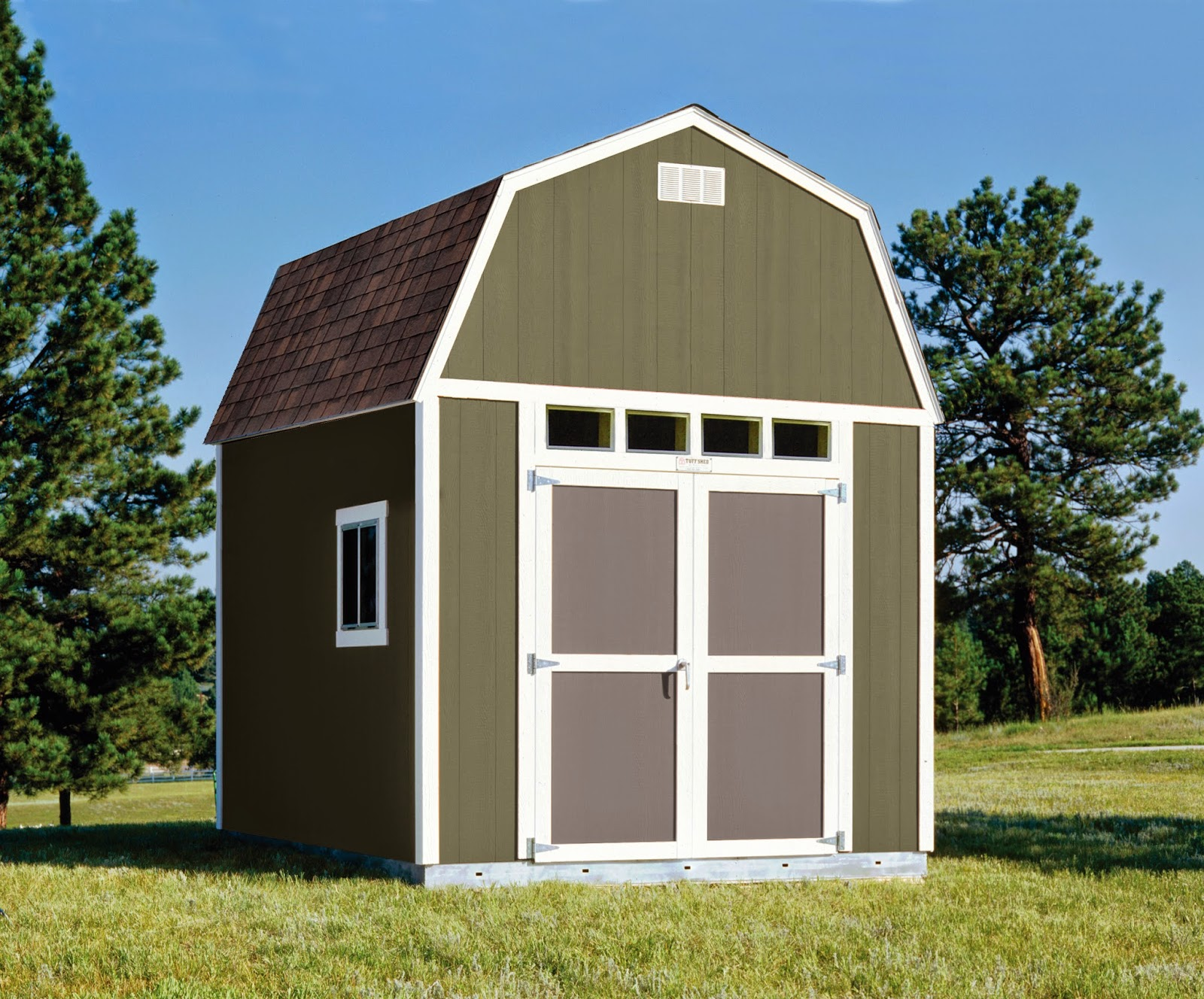 one of the easiest ways to customize your tuff shed building is with our paint upgrade make your shed or garage stand out with bold color