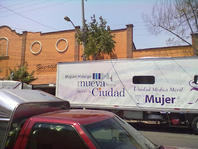 UNIDAD MDICA MVIL PARA LA MUJER