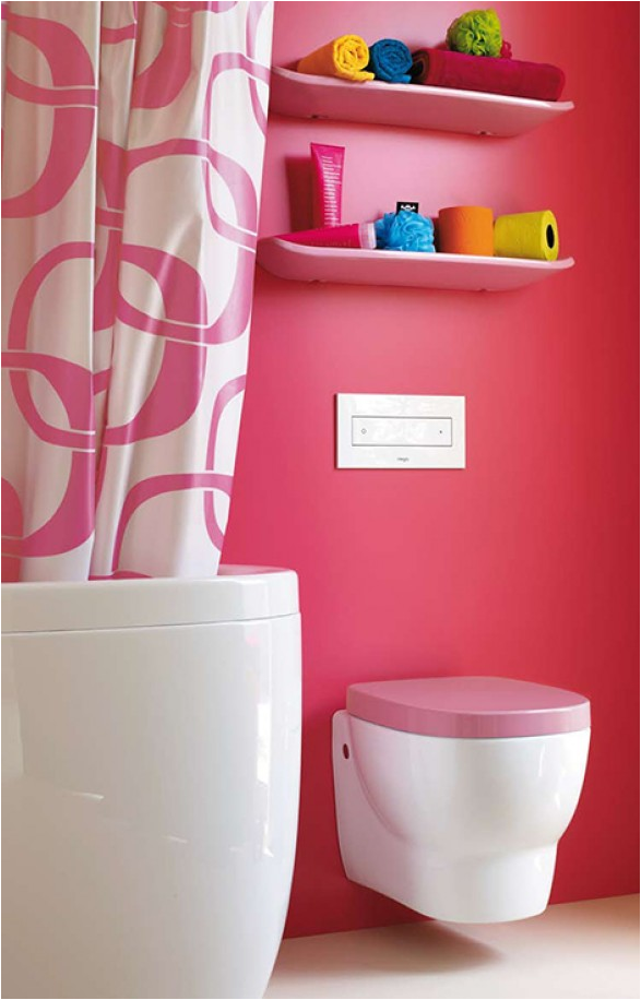 Key interiors by shinay teen girls bathroom ideas for Bathroom designs pink