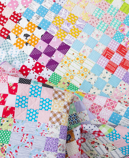 Nine Patch Checkerboard Quilt | Red Pepper Quilts
