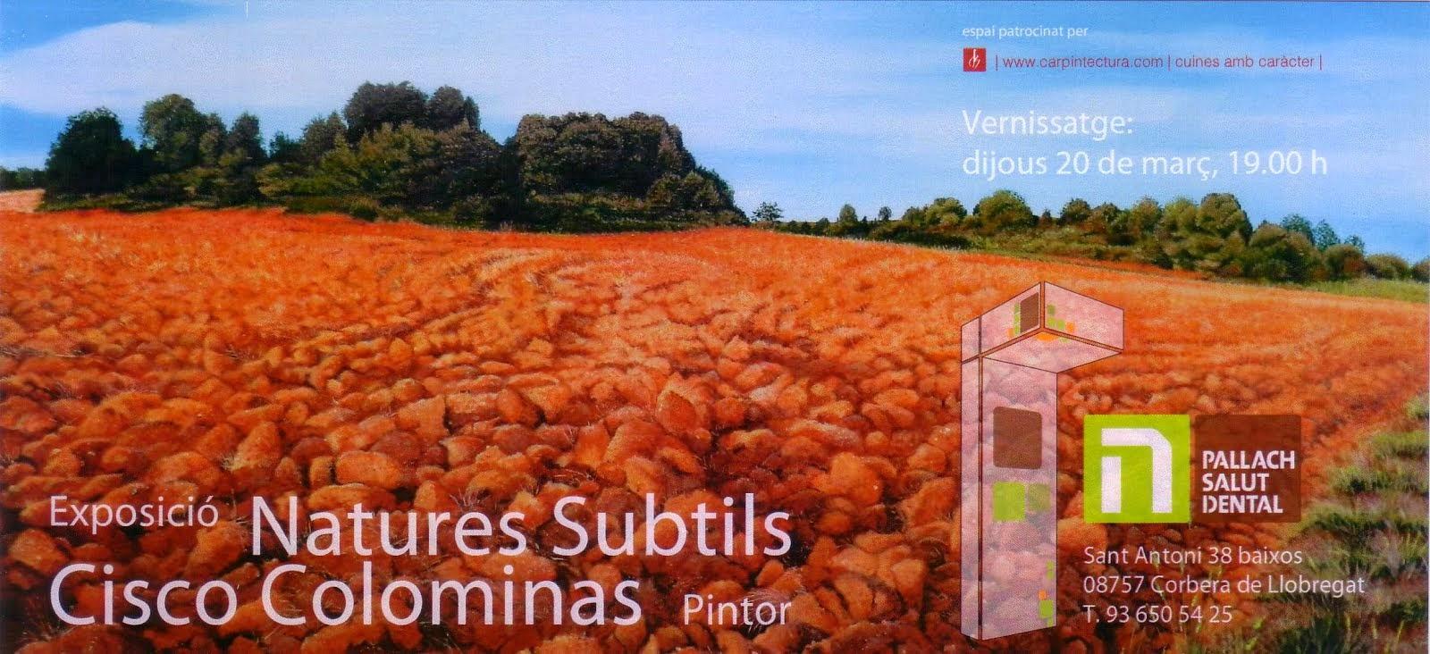 Cartela de l'Exposició