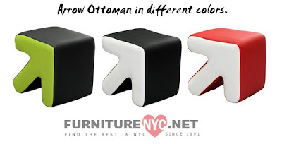 Arrow Ottomans