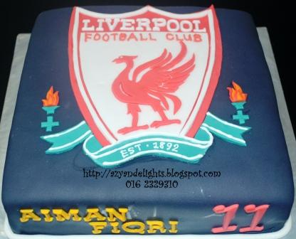 Liverpool Birthday Cake Sue