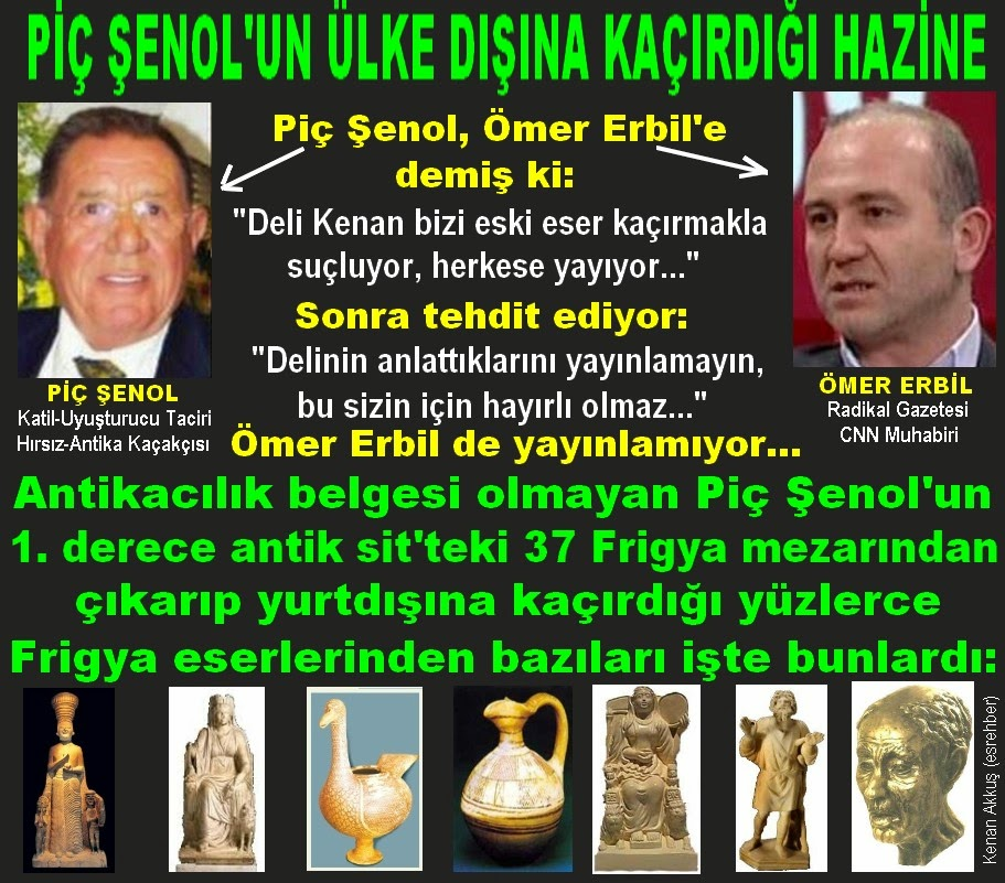 AKP'Lİ PİÇ ŞENOL YÜZLERCE ALTIN HEYKELİ YURT DIŞINA KAÇIRDI