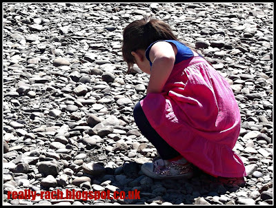 Looking for skimming stones