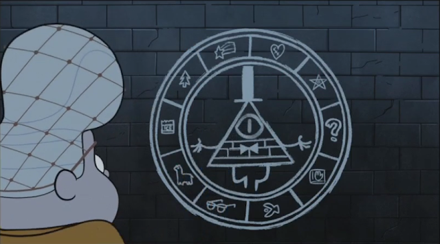 S2e14_Bill_wheel_on_wall
