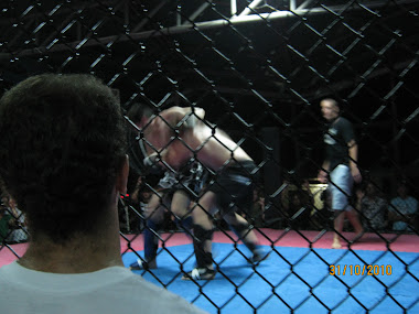FIGHTING IN A MIXED MARTIAL-ART MATCH IN (Thailand 2010)