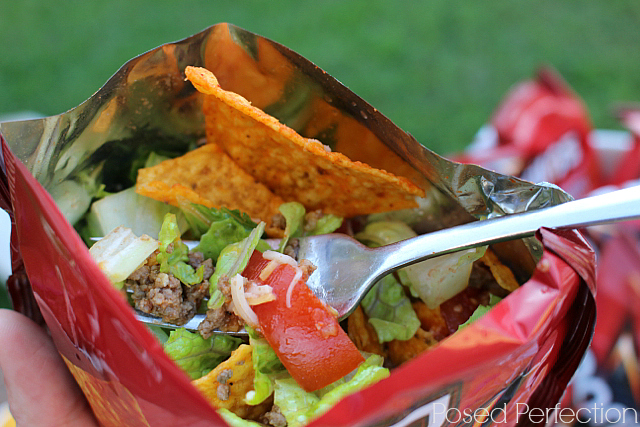 Taco Salad in a Bag (aka Wacos)