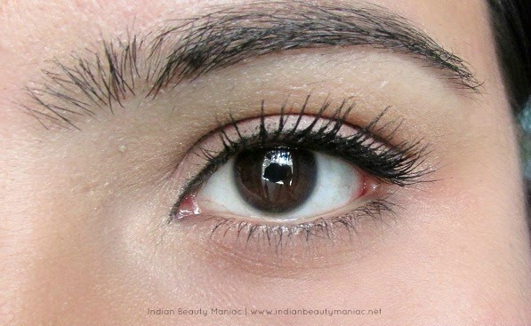 Simple Eye Makeup for work, Formal Eye Makeup, Makeup for office, Indian Eye Makeup, Tight Lining eyes, Rimmel Mascara, How to tightline, Eyeliner for Indian Eyes, Simple work friendly makeup