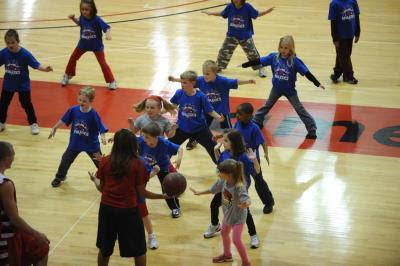 Community Youth Day - SVSU Free Basketball Clinic