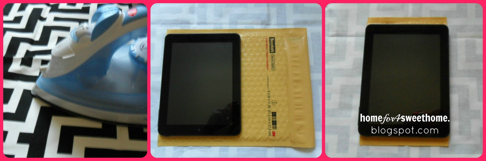 diy tablet sleeve