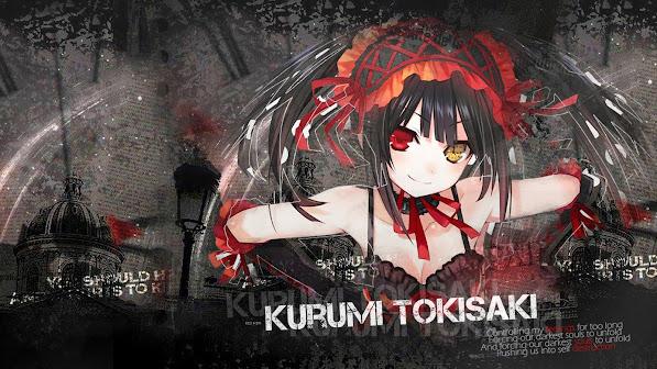 Anime Girl Kurumi Tokisaki 3g