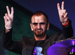 Ringo Starr Celebrated His 72nd Birthday