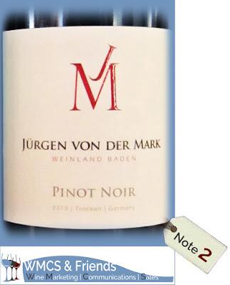 Jürgen von der Mark Pinot Noir Baden 2013