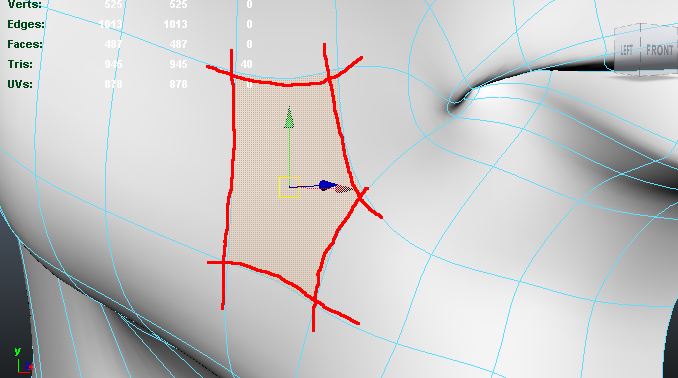 maya zest quickly convert n gon or 5 sided polygons into quads in maya