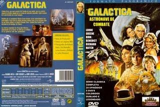 GALÁCTICA - ASTRONAVE DE COMBATE - A SÉRIE COMPLETA