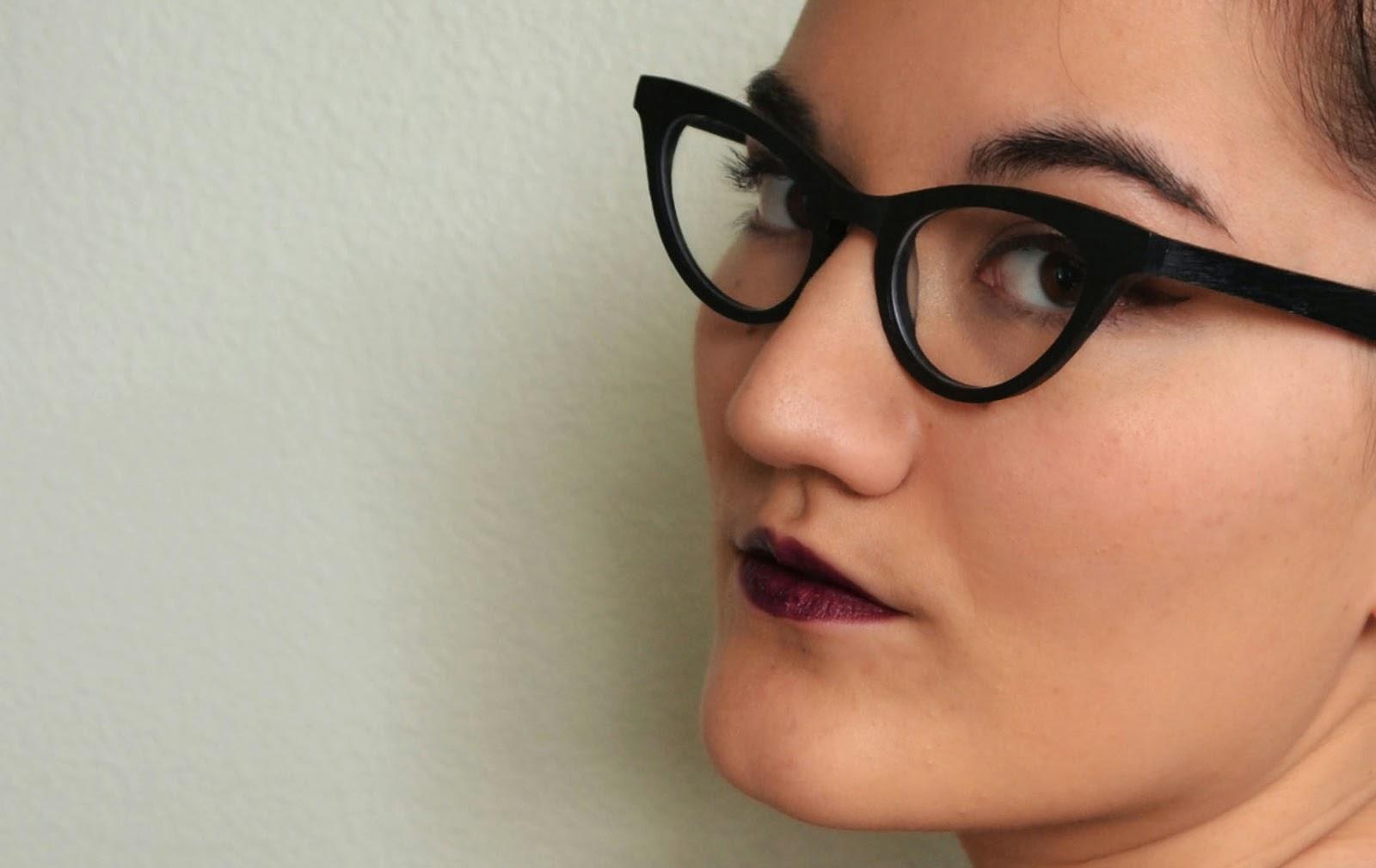 Revlon Va Va Violet lipstick try on