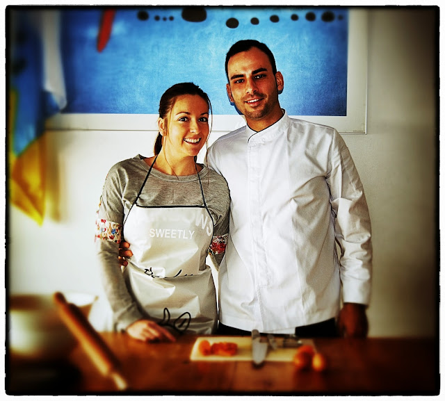 Josué y María miembros de Tú Cocinas