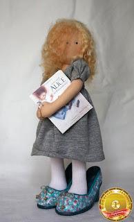 Victoria Zhar текстильная кукла игрушка