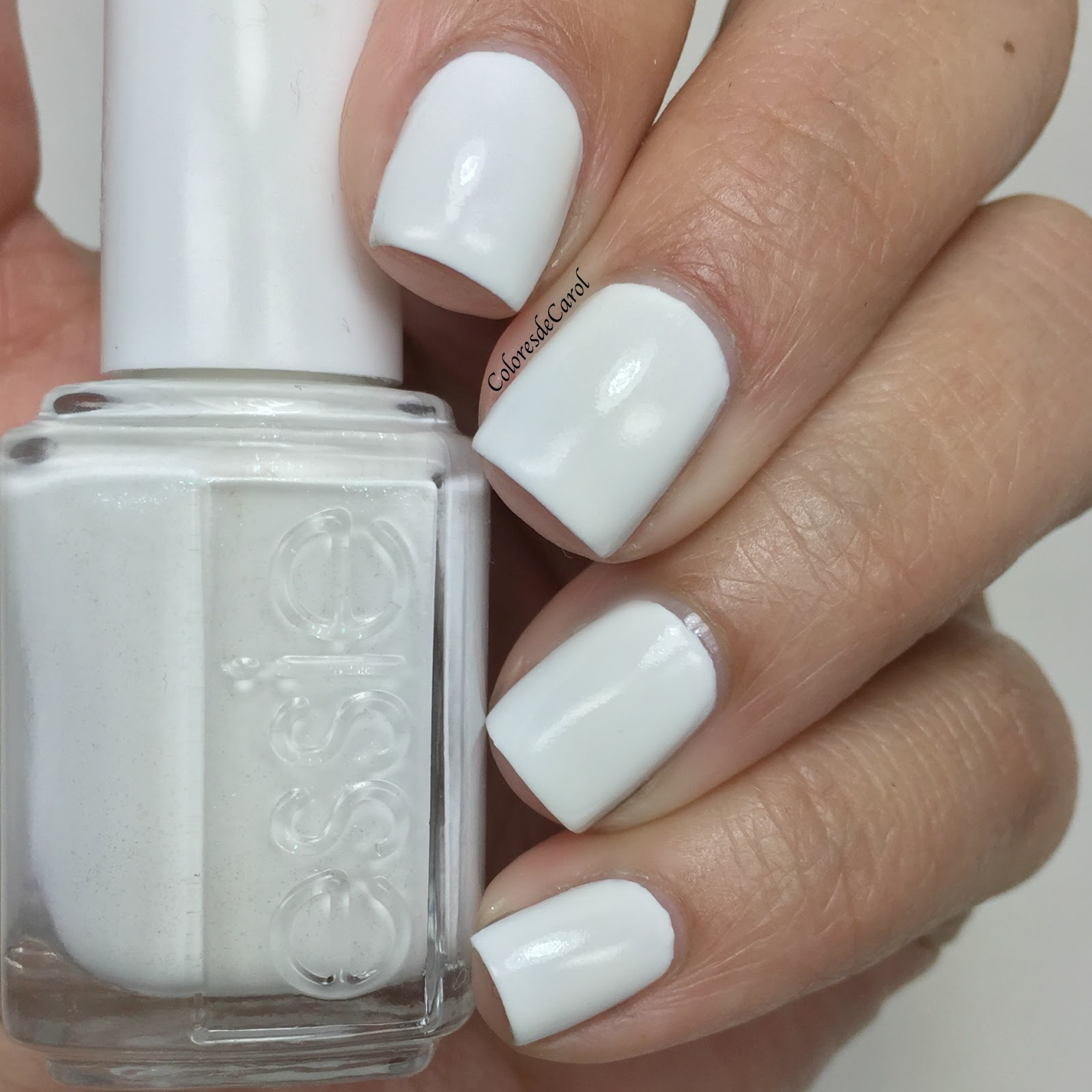 Essie Peach Side Babe, Summer 2015 | Colores de Carol | Bloglovin\'