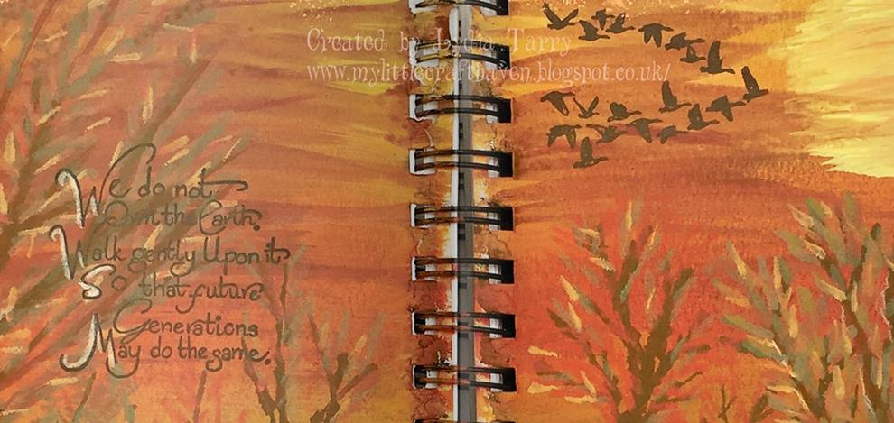 My Little Craft Haven Indigoblu Demo Inspiration Autumn