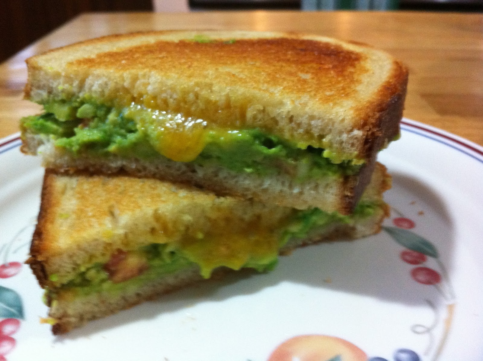 Guacamole Grilled Cheese Sandwich | Shandi Eats